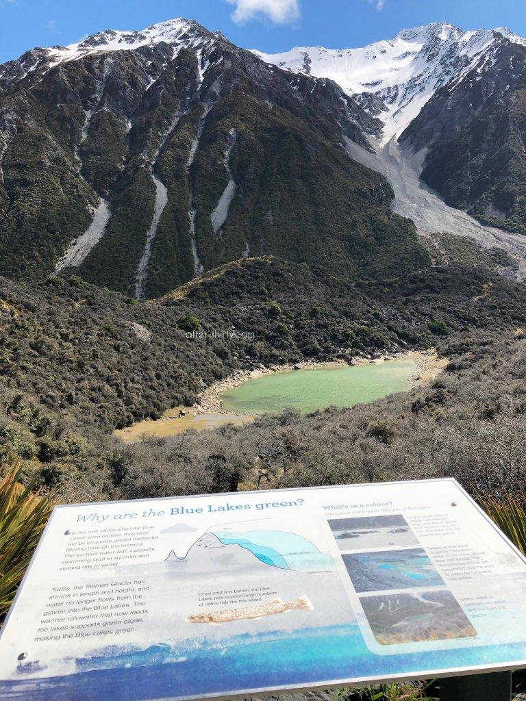 紐西蘭塔斯曼冰川&藍湖徒步步道