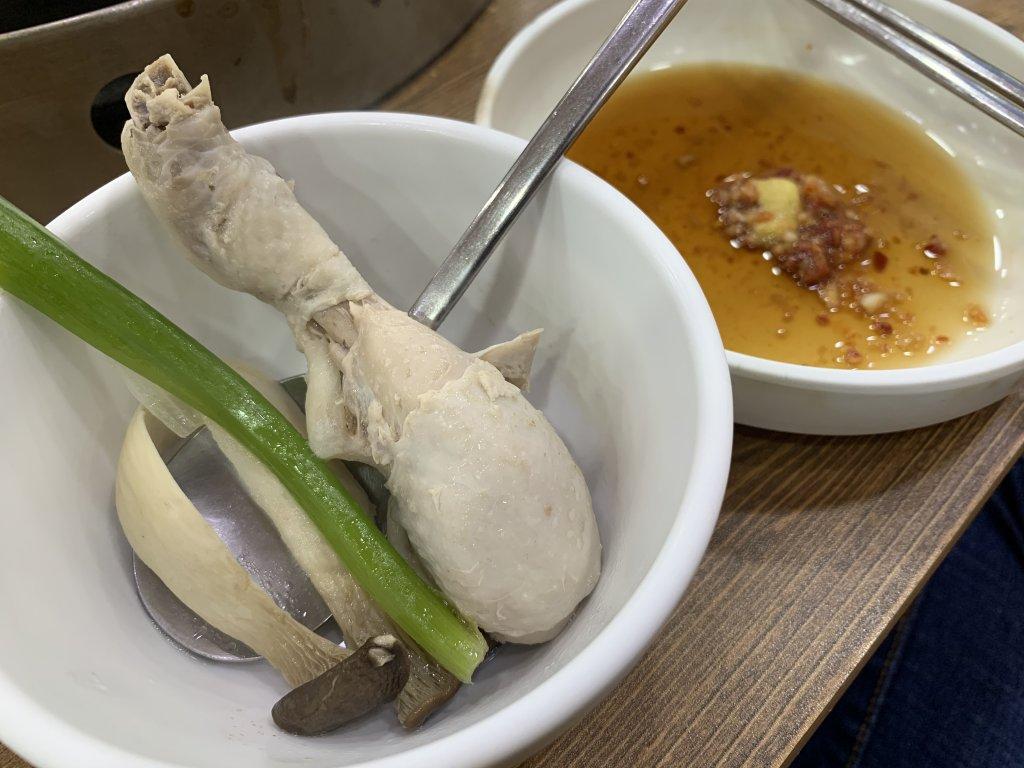 孔陵一隻雞吃法